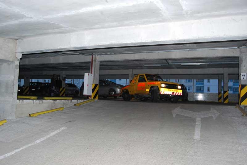 Эвакуация из гаража